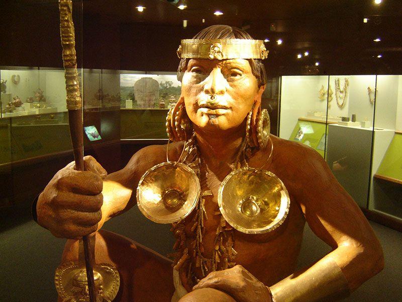 El Museo del Oro Quimbaya