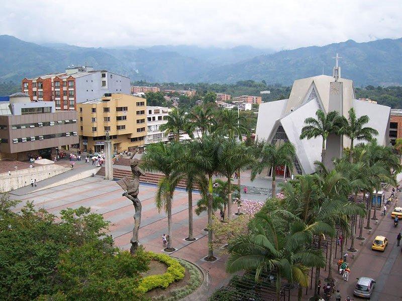 La Plaza de Bolívar