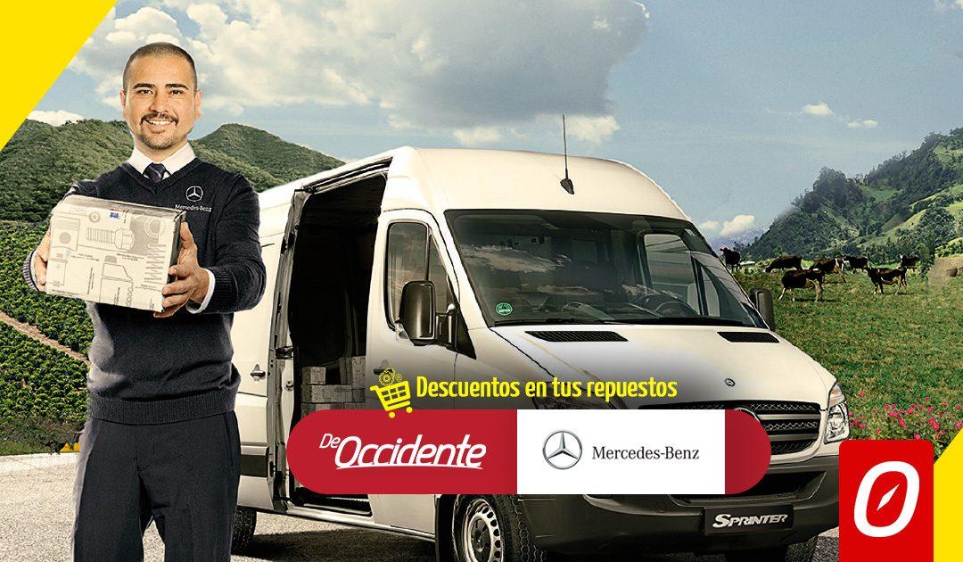 De occidente con lo mejor para tu Mercedes Benz