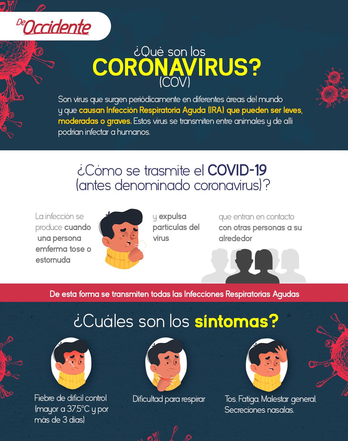 Qué son los coronavirus covid